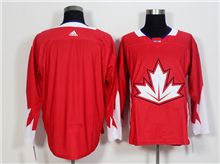 Mens Team Canada (custom Made) Red 2016 World Cup Hockey Jersey