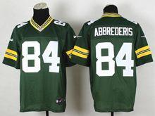 Mens Nfl Green Bay Packers #84 Jared Abbrederis Green Elite Jersey