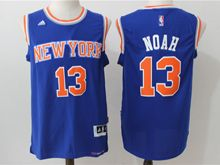 Mens Nba New York Knicks #13 Joakim Noah Blue Jersey