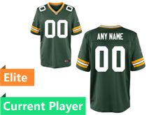 Mens Green Bay Packers Green Elite Jersey