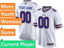 Nfl Buffalo Bills White Game Jersey