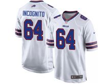 Mens Nfl Buffalo Bills #64 Richie Incognito White Game Jersey