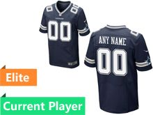 Mens Dallas Cowboys Blue Elite Jersey