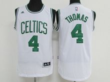 Mens Nba Boston Celtics #4 Isaiah Thomas White Jersey