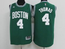 Mens Nba Boston Celtics #4 Isaiah Thomas Green Jersey
