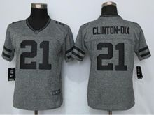 Women   Green Bay Packers #21 Haha Clinton-dix Gray Gridiron Limited Jersey