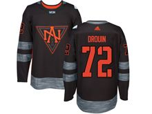 Mens Team North America #72 Jonathan Drouin Black 2016 World Cup Hockey Jersey