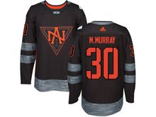 Mens Team North America #30 Matt Murray Black 2016 World Cup Hockey Jersey