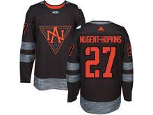Mens Team North America #27 Mugent-hopkins Black 2016 World Cup Hockey Jersey
