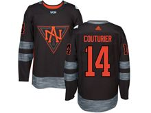 Mens Team North America #14 Sean Couturier Black 2016 World Cup Hockey Jersey