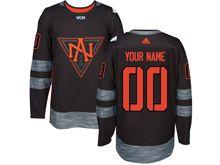 Mens Women Yoth Team North America (custom Made) Black 2016 World Cup Hockey Jersey