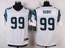 Mens Nfl   Carolina Panthers #99 Kawann Short White Elite Jersey