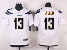 Mens Nfl   San Diego Chargers #13 Keenan Allen White Elite Jersey