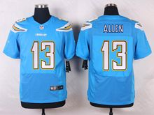 Mens Nfl   San Diego Chargers #13 Keenan Allen Light Blue Elite Alternate Jersey