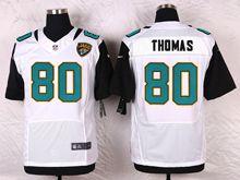 Mens Nfl   Jacksonville Jaguars #80 Julius Thomas White Elite Jersey