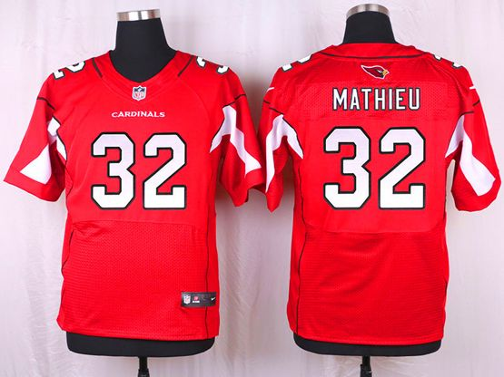 Mens Nfl   Arizona Cardinals #32 Tyrann Mathieu Red Elite Jersey