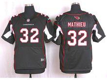 Mens Nfl   Arizona Cardinals #32 Tyrann Mathieu Black Elite Jersey