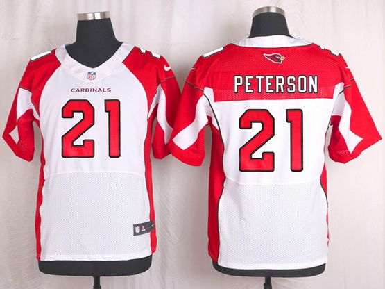 Mens Nfl Arizona Cardinals #21 Patrick Peterson White Elite Jersey