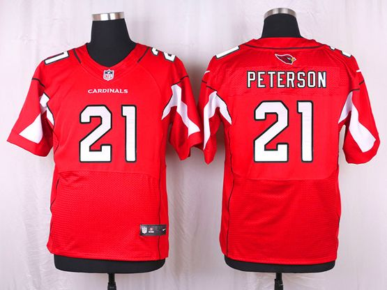 Mens Nfl   Arizona Cardinals #21 Patrick Peterson Red Elite Jersey