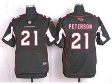 Mens Nfl   Arizona Cardinals #21 Patrick Peterson Black Elite Jersey