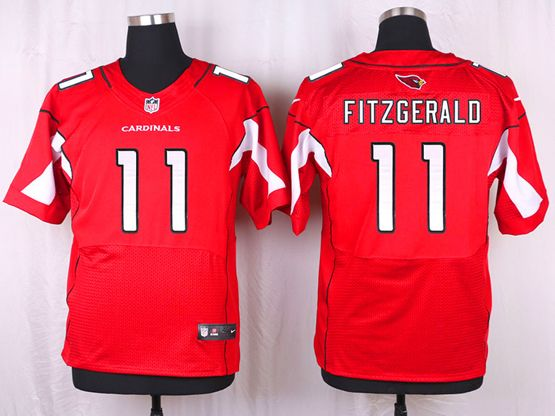 Mens Nfl Arizona Cardinals #11 Larry Fitzgerald Red Elite Jersey