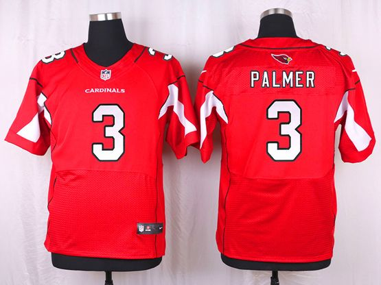 Mens Nfl Arizona Cardinals #3 Carson Palmer Red Elite Jersey