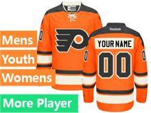 Reebok Philadelphia Flyers Orange Alternate Premier Jersey