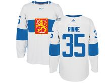 Mens Nhl Team Finland #35 Pekka Rinne White 2016 World Cup Hockey Jersey