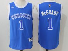 Mens Nba Toronto Raptors #1 Tracy Mcgrady Blue (2016 New) Jersey