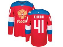 Mens Nhl Team Russia #41 Nikolay Kulemin Red 2016 World Cup Hockey Jersey