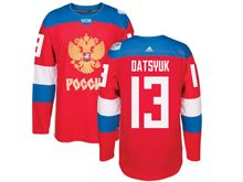 Mens Nhl Team Russia #13 Pavel Datsyuk Red 2016 World Cup Hockey Jersey