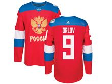 Mens Nhl Team Russia #9 Dmitry Orlov Red 2016 World Cup Hockey Jersey