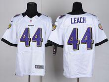 Mens Nfl   Baltimore Ravens #44 Kyle Juszcyk White Elite Jersey