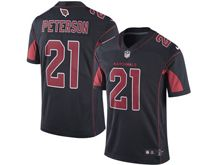 Mens Nfl Arizona Cardinals #21 Patrick Peterson Black Color Rush Limited Jersey
