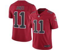 Mens Nfl Atlanta Falcons #11 Julio Jones Red Color Rush Limited Jersey