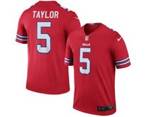 Mens Nfl Buffalo Bills #5 Tyrod Taylor Red Color Rush Limited Jersey