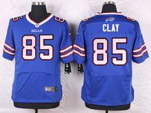 Mens Nfl Buffalo Bills #85 Charles Clay Blue Elite Jersey