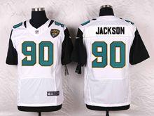 Mens Nfl   Jacksonville Jaguars #90 Malik Jackson White Elite Jersey