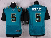 Mens Nfl   Jacksonville Jaguars #5 Blake Bortles Green Elite Jersey