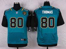 Mens Nfl   Jacksonville Jaguars #80 Julius Thomas Green Elite Jersey