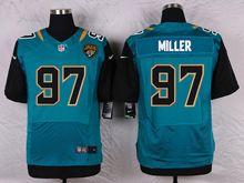 Mens Nfl   Jacksonville Jaguars #97 Roy Miller Green Elite Jersey