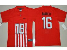 Youth Ncaa Nfl Ohio State Buckeyes #33 J.t Barrett Red Alternate Elite Jersey