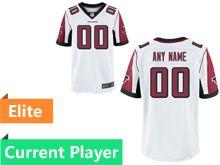 Mens Atlanta Falcons White Elite Jersey