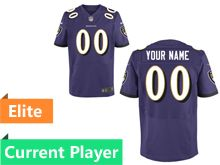 Mens Baltimore Ravens Purple Elite Jersey