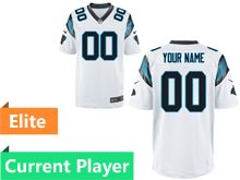 Mens Carolina Panthers White Elite Jersey