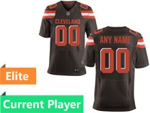 Mens Cleveland Browns Brown Elite Jersey
