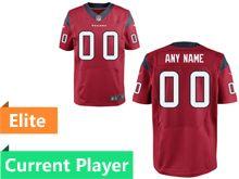 Mens Houston Texans Red Elite Jersey