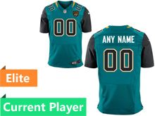 Mens Jacksonville Jaguars Green Elite Jersey