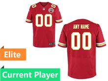 Mens Kansas City Chiefs Red Elite Jersey