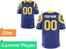 Mens Los Angeles Rams Royal Blue Elite Jersey
